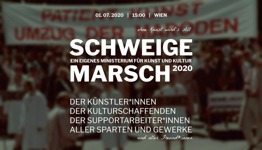 Schweigemarsch 2020 Logo